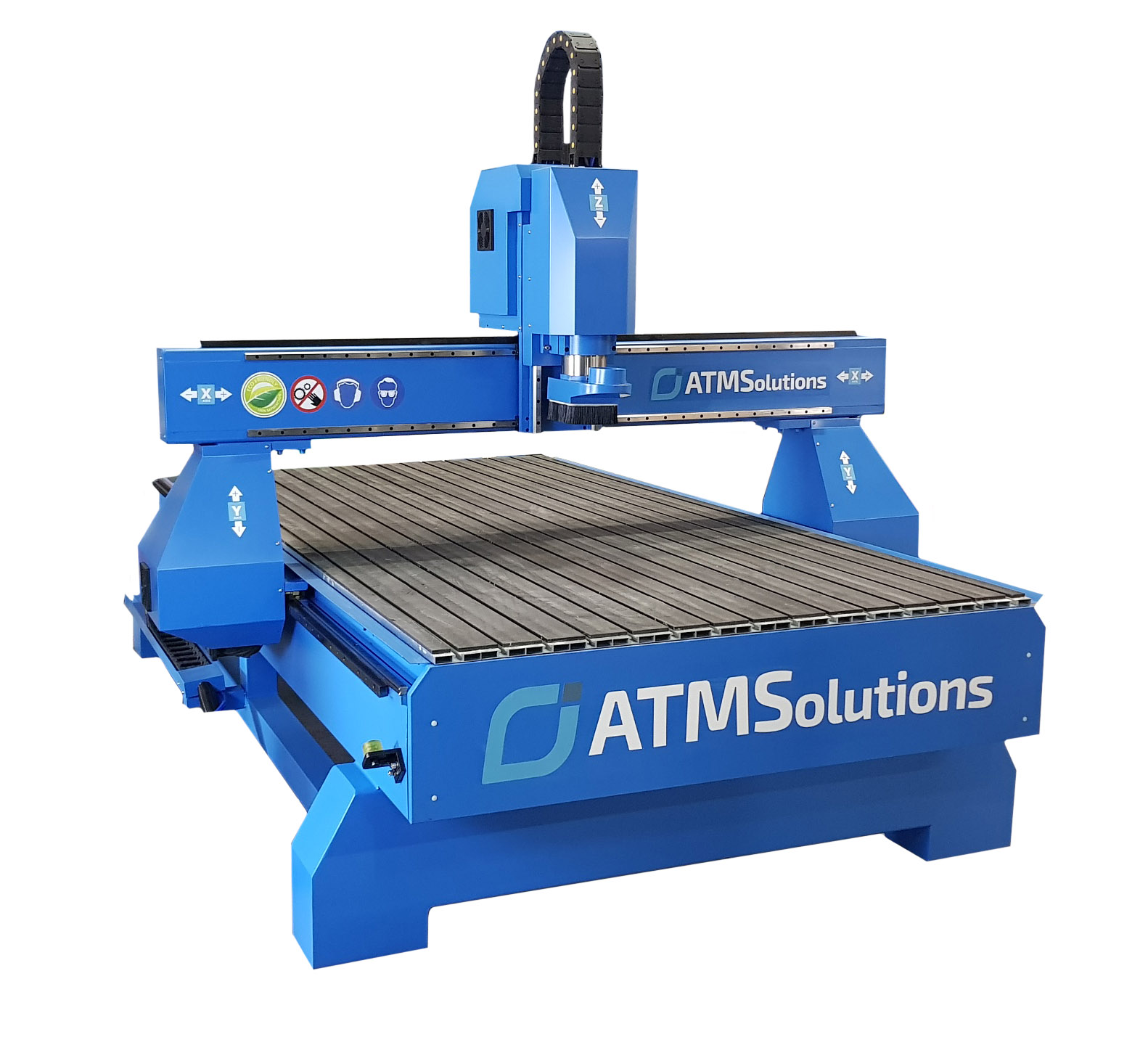 Nowoczesna architektura Ploter Frezujący CNC ATMS 1325 - Maszyny CNC Frezarki Plotery PW45
